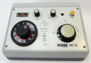 Zeiss-MC63-Microscope-Camera-Exposure-Controller