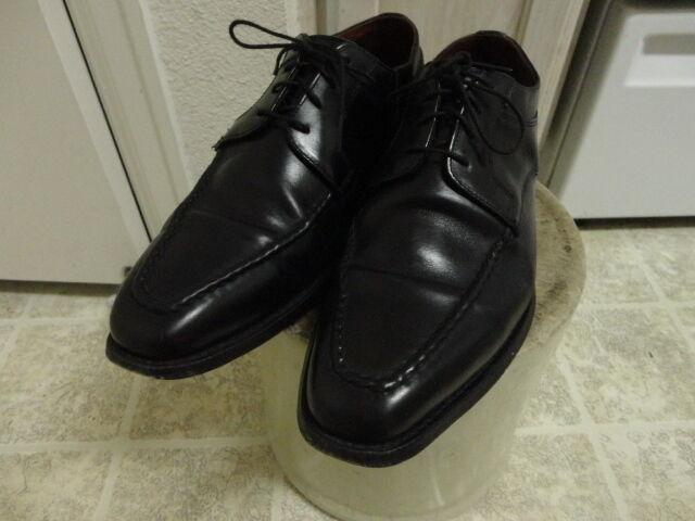 ALLEN EDMONDS CHARLESTON scarpe GREAT COND NOT MUCH USED MADE IN USA nero 10D