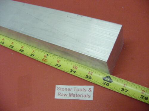 "2-1//4/"" X 2-1//4/"" ALUMINUM SQUARE 6061 SOLID BAR 36/"" long T6511 Mill Stock 2.25"