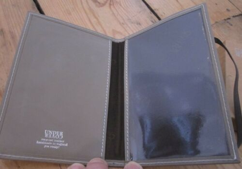 bc79ac3a4f73 UNDERCOVER RECYCLED LEATHER Passport Holder - £11.99 | PicClick UK