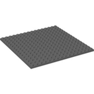 LEGO 16 X 16 STUD DARK BLUISH GREY PLATE PIECE BASEPLATE PART