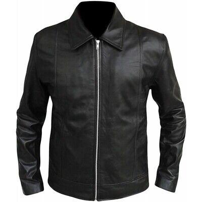 veste en cuir moto homme avec grade
