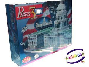 US-CAPITOL-WASHINGTON-NEW-PUZZ-3D-PUZZLE-WREBBIT-764PCS-2-1-2-FEET-HIGHT-QUALITY