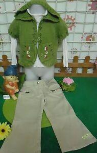 vetements-occasion-fille-2-ans-gilet-pantalon-sous-pull