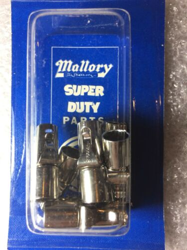 NOS Part # 28347 Mallory Super Duty Spark Plug Terminals Pack of 8