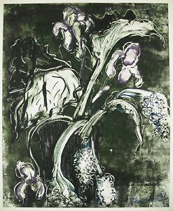 Jean-Claude-Chevalier-Orchids-Nancy-Print-Monotype-Vincent-Brads-Decorat