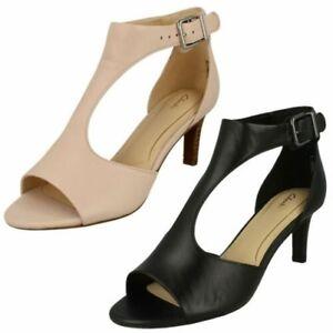 a72d093196fd Image is loading Ladies-Clarks-Peep-Toe-Heeled-Sandals-Laureti-Star