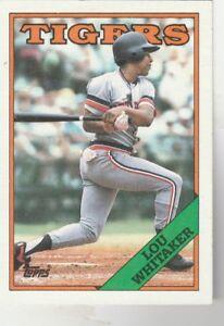 FREE-SHIPPING-MINT-1988-Topps-770-Lou-Whitaker-Detroit-Tigers-2