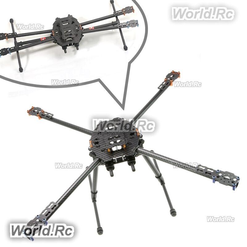 Tarot Iron Man 650 pieghevole 3K IN FIBRA DI CARBONIO QUAD COPTER Quadcopter frame TL65B01