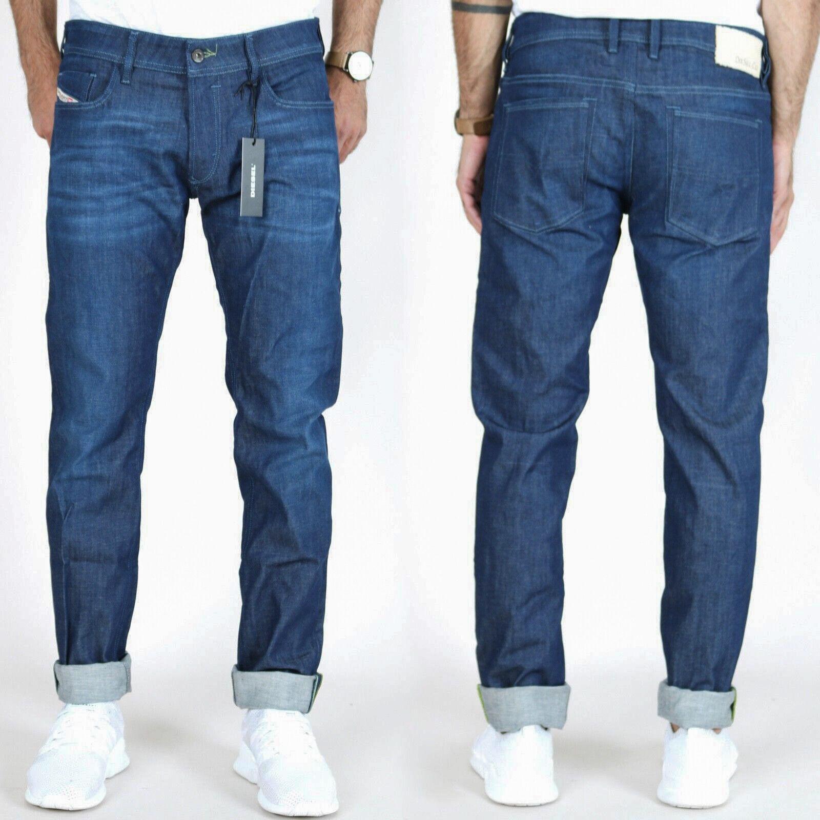 Diesel Herren Röhren-Jeans-Hose   Sleenker Skinny Fit Fit Fit   Stretch   W32 L32 | Hat einen langen Ruf  | Good Design  | Öffnen Sie das Interesse und die Innovation Ihres Kindes, aber auch die Unschuld von Kindern, kindlich, glücklich  | Verrückter Preis, Bi d5169a