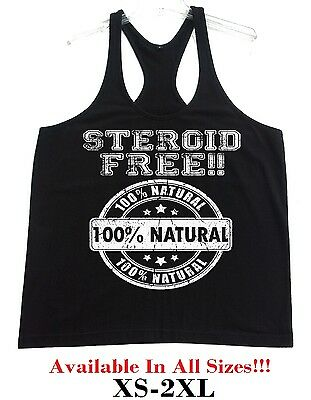 New Train Hate Stringer Bodybuilding Vest Tank Top Beast Muscle Gym hater buff