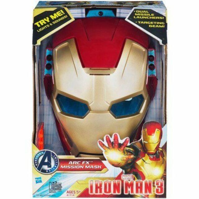 Hasbro Toys A1714 Marvel Iron Man 3 Arc FX Mission Mask ...
