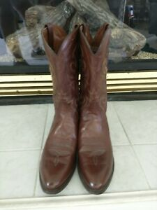 Dan-Post-Men-039-s-Milwaukee-Western-Cowboy-Leather-Boots-DP2111R-Antique-Tan