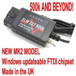 Details about Ford Ranger ELM MK2 500k Read Reset DTC All Modules  Diagnostic Reader Fault Tool
