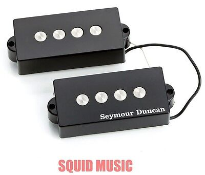 seymour duncan spb 3 precision p bass quarter pound bassline pickup black ebay. Black Bedroom Furniture Sets. Home Design Ideas