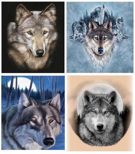 Wolf # 20-8 x 10 Tee Shirt Iron On Transfer