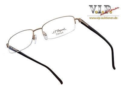 St.dupont Lunette Brille Sonnenbrille Halfframe Glasses Sunglasses Occhiali ОЧКИ