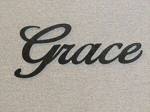Image is loading GRACE-Wall-Word-Art-Decor-Wall-Hanging & GRACE Wall Word Art Decor Wall Hanging | eBay