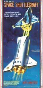 Atlantis-Models-Convair-Space-Shuttlecraft-1-150-scale-model-kit-new-1828