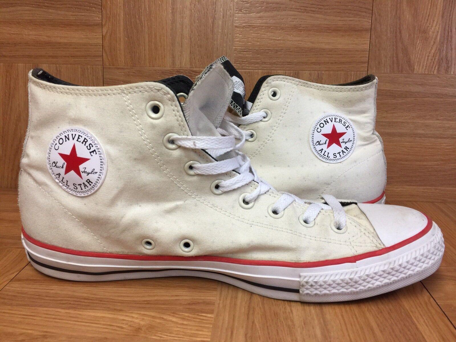 RARE Converse Chuck Taylor All Star PRO CTAS Parchment White Gum Sz 12 Men's