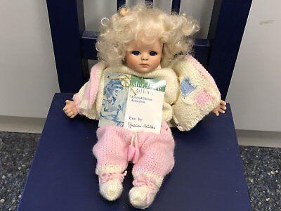 Gabriele Müller Porzellan Puppe 22 Cm Art Dolls-ooak Dolls Top Zustand