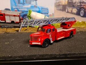 CORGI 1/50 - 73502 berliet GLR grande echelle marseille fire engine