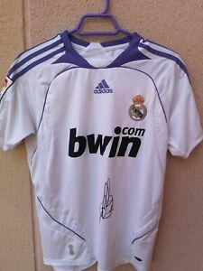 Camiseta fútbol del Real Madrid firmada por Van Nistelrooy - eBay