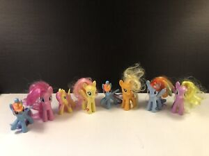 My Little Pony Figures Lot Of 8 Ebay