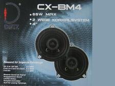 2 Wege Lautsprecher Boxen BMW 1er 10 cm Einbau Set E 81 84 87 88 Koax