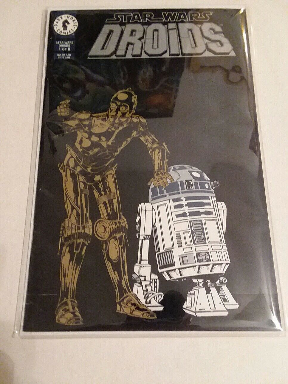STAR WARS R2-D2 SMART REMOTE CONTROL TOY + + + DROIDS COMIC - FREE SHIPPING 7239b6
