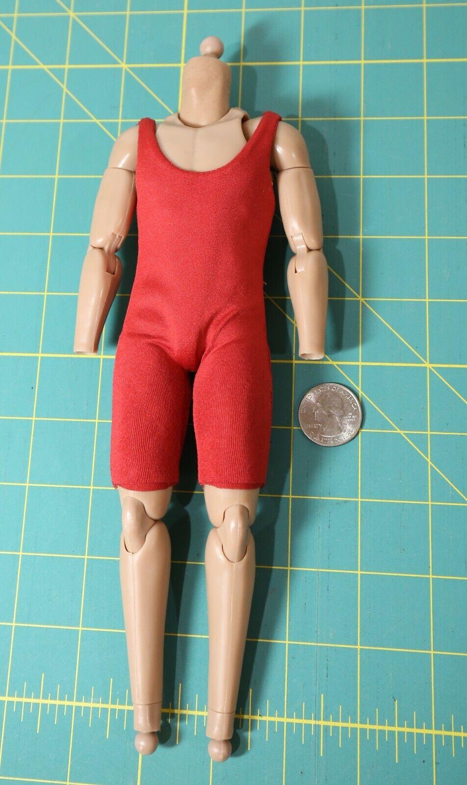 Sideshow 1 6 Scale Body Luke Skywalker X-Wing Pilot Action Figure & Neck Peg