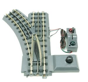 MTH-40-1005-REALTRAX-O-31-Remote-Operating-LEFT-HAND-Switch-O-GAUGE-TRAIN-TRACK