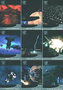 "Babylon 5 Season 5 Five 9 Card /""Thirdspace/"" Chase Set T1-T9"