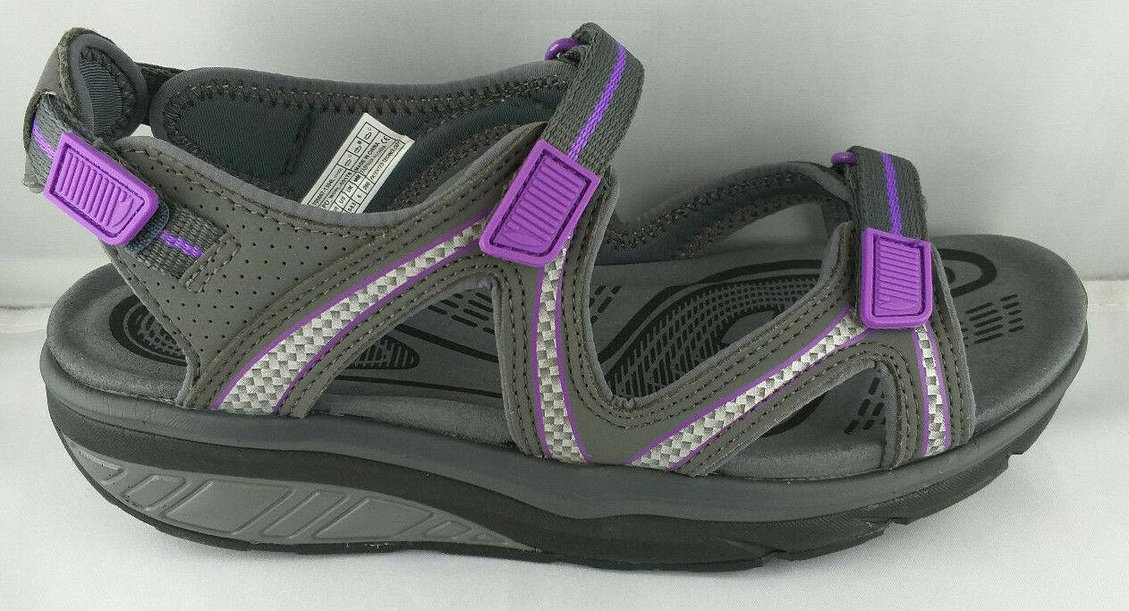 MBT Lila 6 Sport Sandale W grau