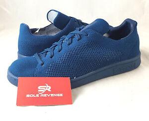 nett Details about New adidas Originals STAN SMITH PRIMEKNIT SHOES Blue adicolor Steel S80067 x1  Kostenloser Versand