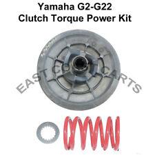 Yamaha Golf Cart G2-G22 Driven Clutch Sheave & High Torque Power Spring Kit