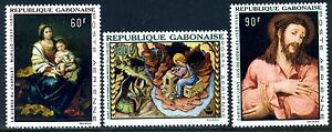 1968 Gabon Religious Paintings MNH - Lewes, United Kingdom - 1968 Gabon Religious Paintings MNH - Lewes, United Kingdom