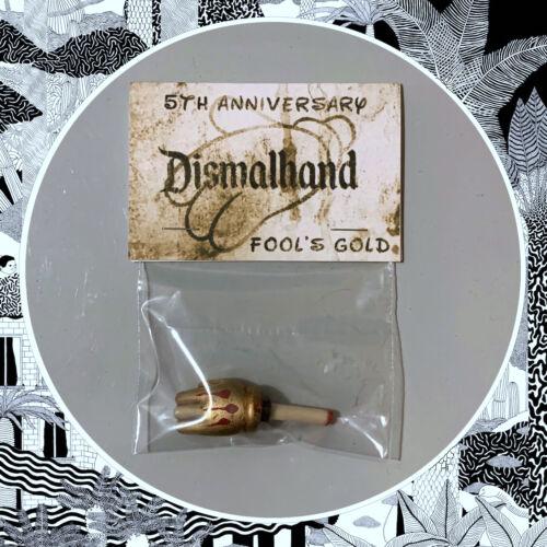 FOOLS GOLD dismalhand DA DMS-VINILE EDIZIONE LIMITATA ART giocattolo dismaland Banksy