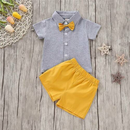 Short Pants Outfit Set Brother and Sister Clothes Newborn Baby Girl Boy Top