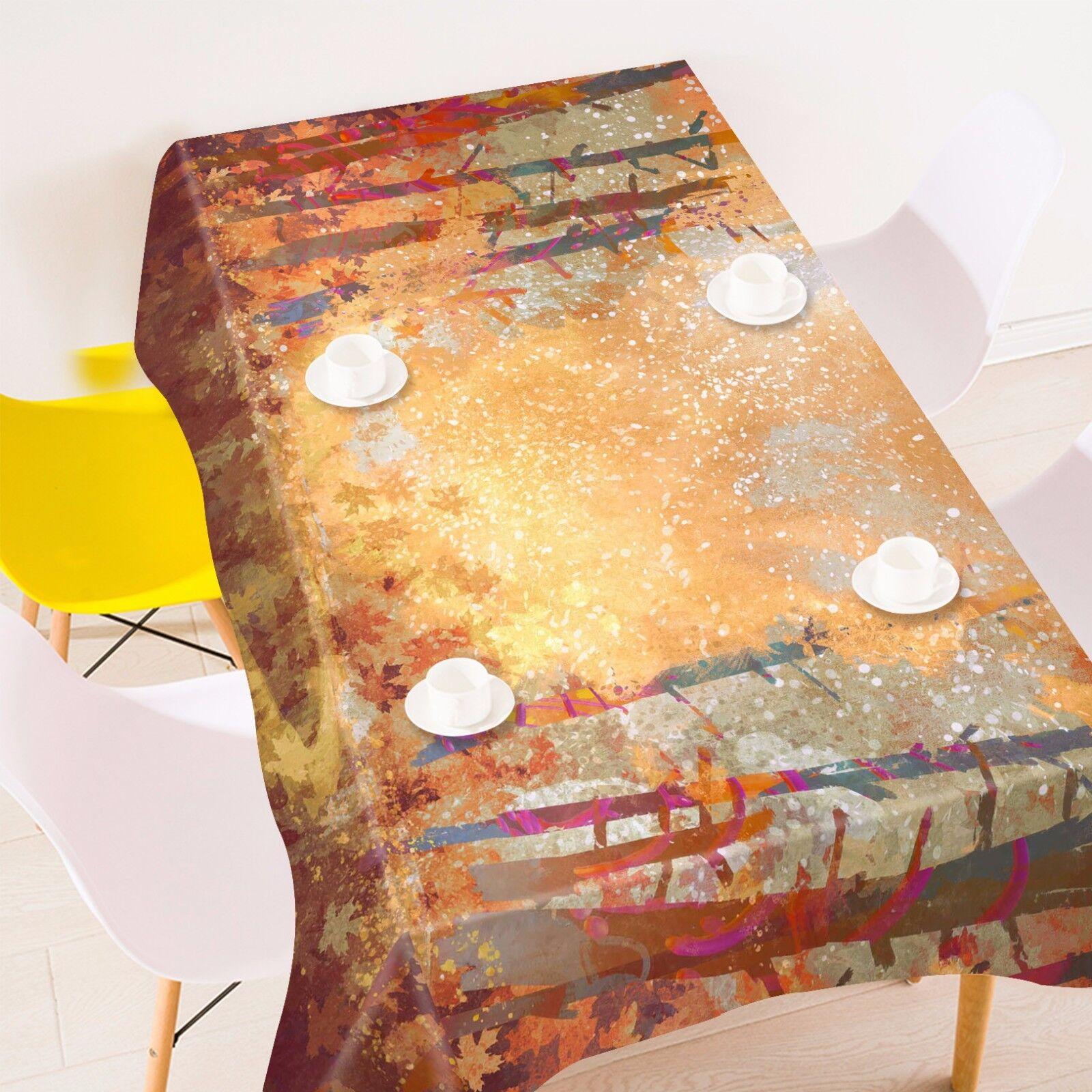 3D Peint Nappe Table Cover Cloth fête d'anniversaire AJ papier peint Royaume-Uni Citron