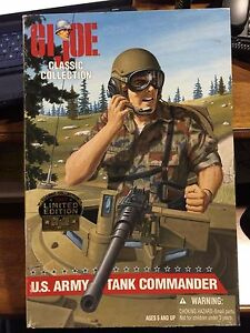U.S. Army Tank Commander 1997 Limited Edition GI Joe Hasbro made by Kenner