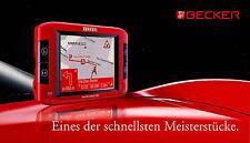 Prospekt Becker Traffic Assist Pro 8 2006 Navigation Broschüre brochure