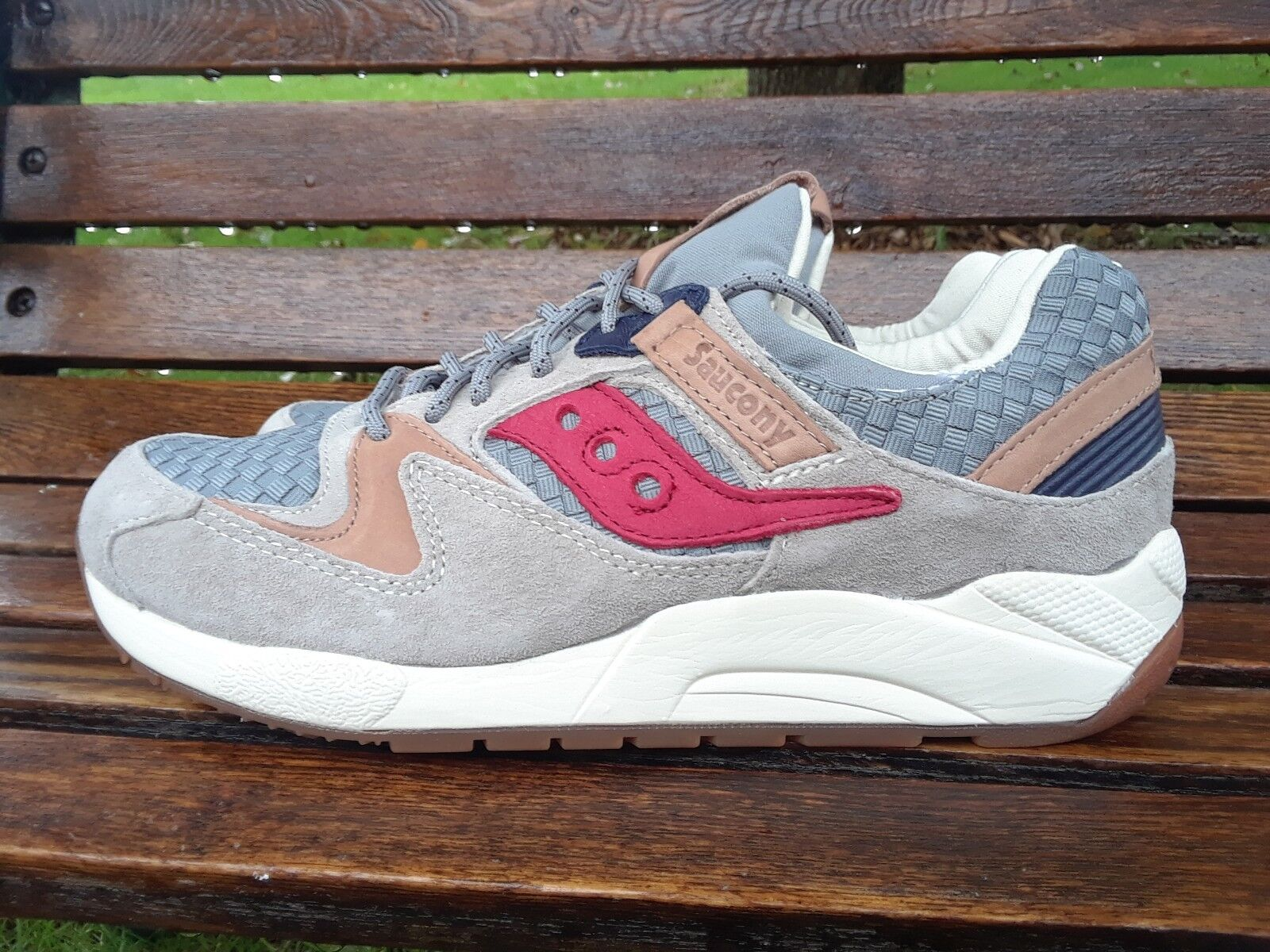 5fab41553bf9 Saucony Grid 9000 Liberty Gray Size 8 Weave for sale online