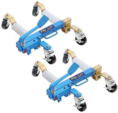2x hydraulique manœuvre Rangierwagenheber par 680 Kg Pour Exposition espaces