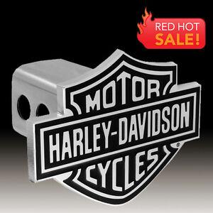harley davidson 3d bar shield trailer tow hitch cover. Black Bedroom Furniture Sets. Home Design Ideas