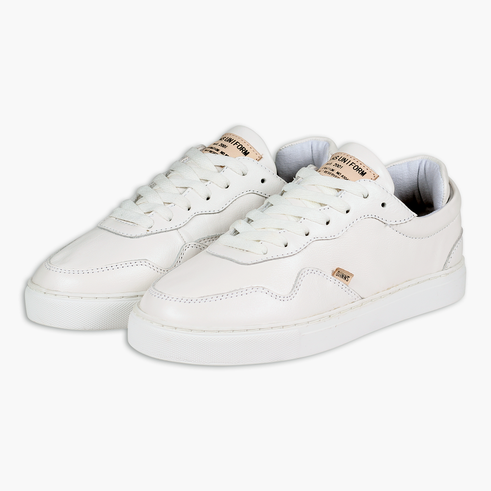 Djinns Awaike T-Sport shoes shoes Leather Leather in White White