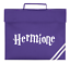 Personalised Harry Potter Font Colour Printed Varsity School Book Bag Top Handle