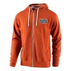 Troy Designs shirt Lee orange Motocross brûlé à capuche Pull Pullvestesweat QrsCxthdB