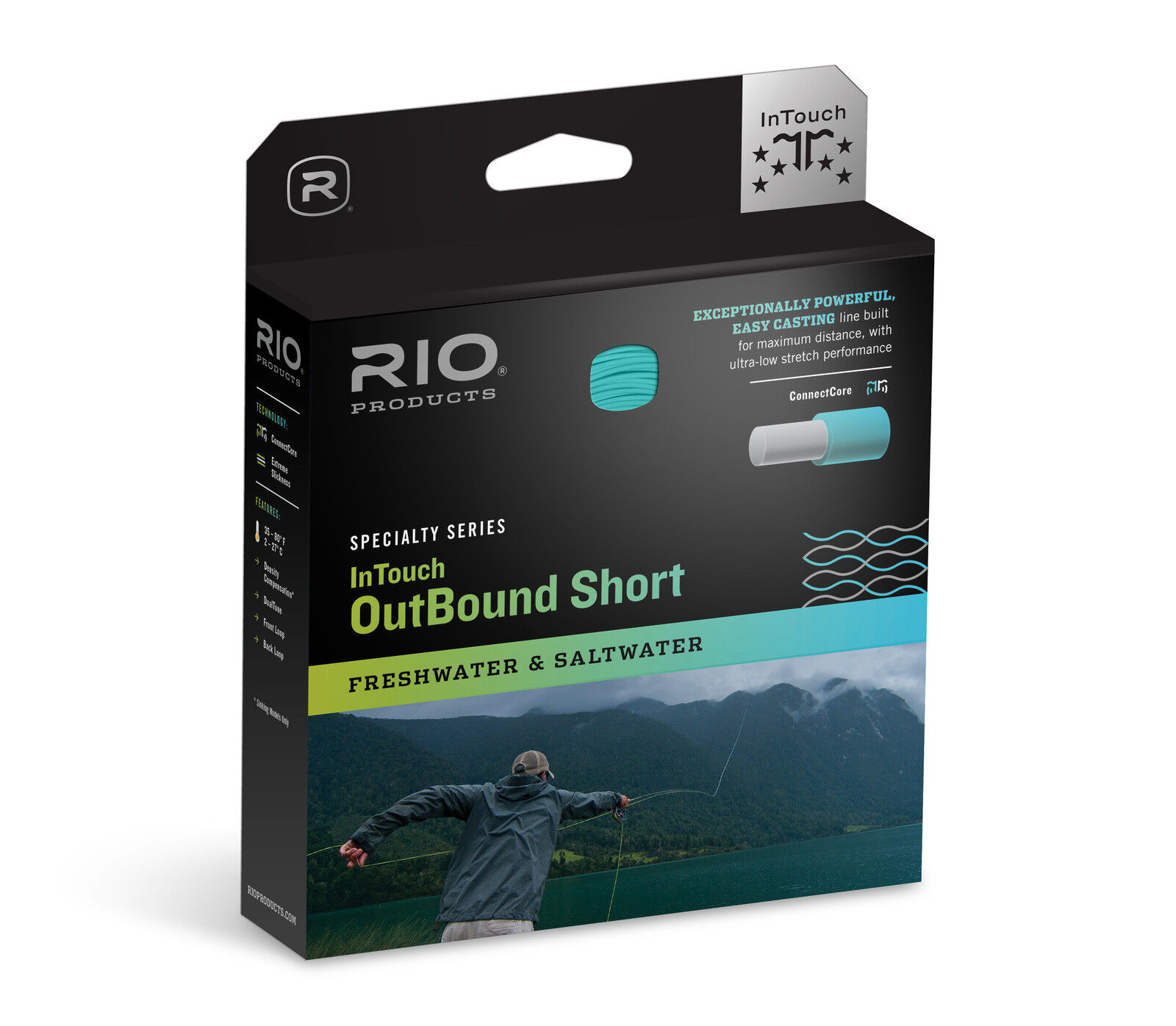 RIO InTouch Outbound Short Fly Line - WF10I - Full Intermediate - New