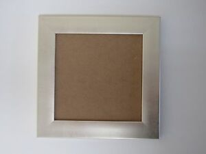 Details About Champagne Silver 6x6 Square Picture Photo Frame Hang